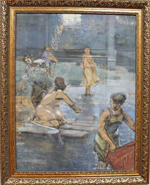 Vladimir Nikolayevich Gavrilov. On the river
