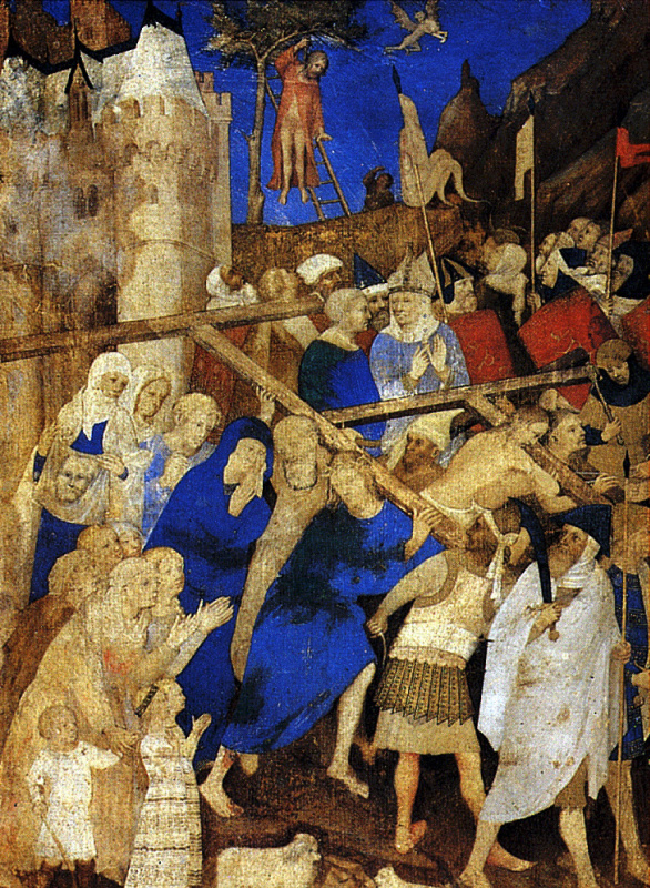 Jacquemart de Eden. The carrying of the cross