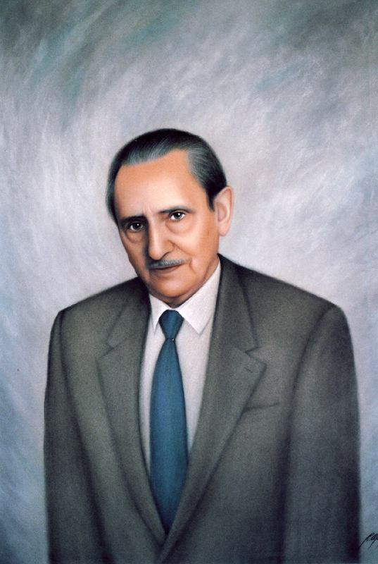 Рикардо Асенсио. Мужской портрет