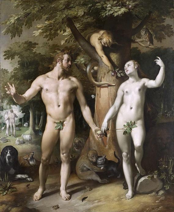 Корнелис ван Харлем. Грехопадение