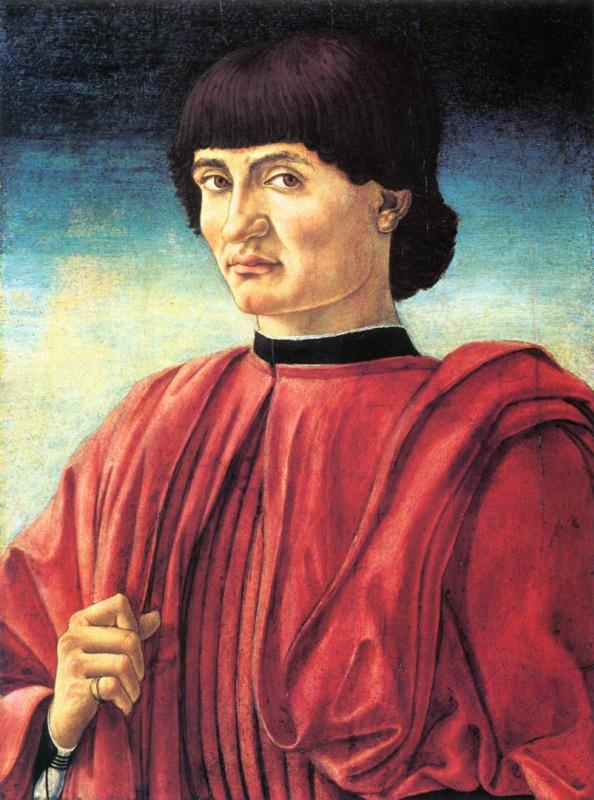 Андреа дель Кастаньо. Портрет джентльмена