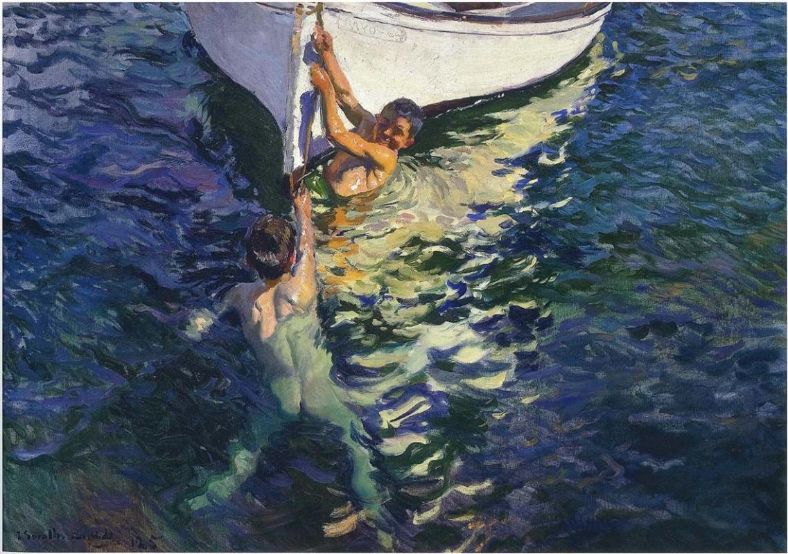 Хоакин Соролья (Соройя). Белая лодка, Хавеа