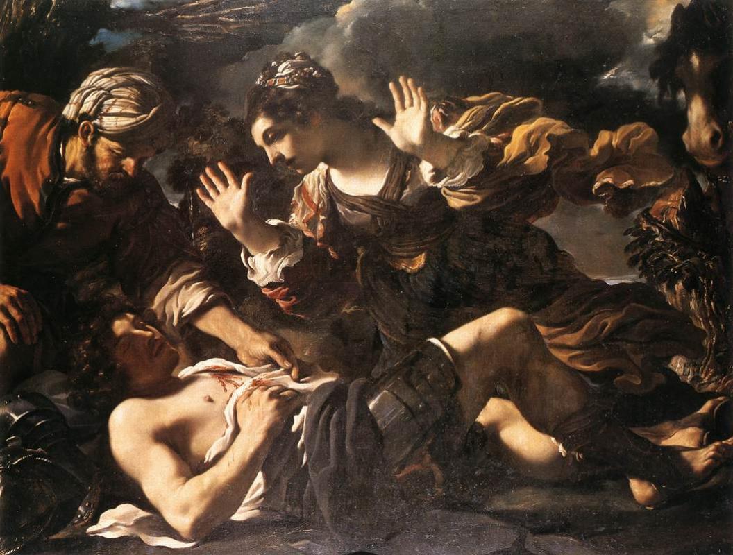 Giovanni Francesco Guercino. Ermina