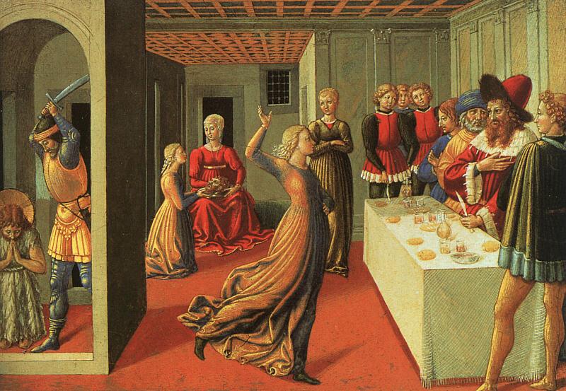 Benozzo Gozzoli. The Feast Of Herod