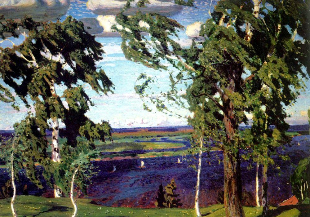 Аркадий Александрович Рылов. Зеленый шум