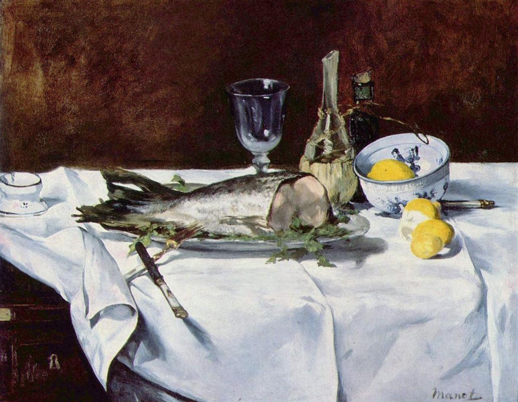Edouard Manet. Salmon