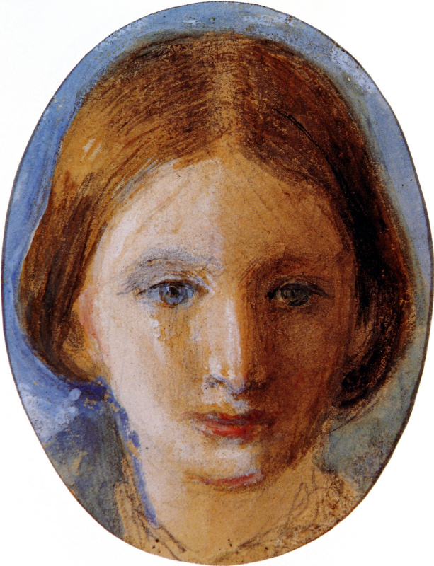 John Ruskin. Portrait of Rosa La Touche
