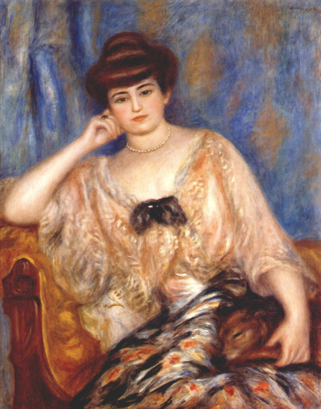 Pierre Auguste Renoir. Misia Sert