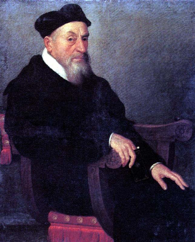 Джованни Баттиста Морони. Портрет священника
