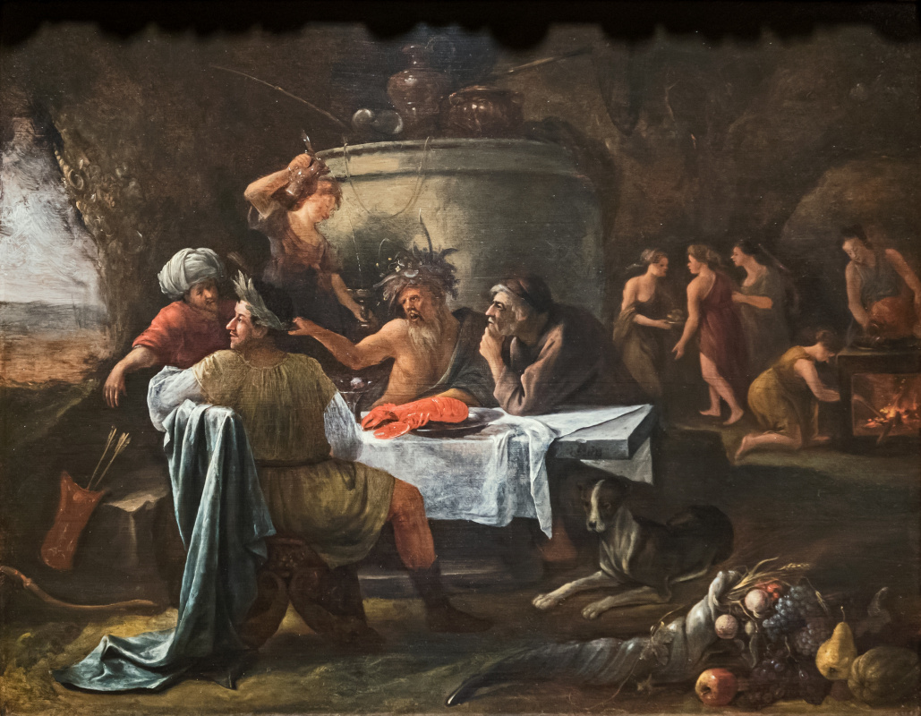 Jan Steen. Theseus and Achelous