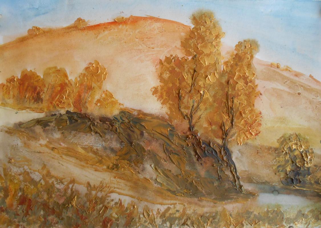 Владимир Иванович Осипов. River under the hill