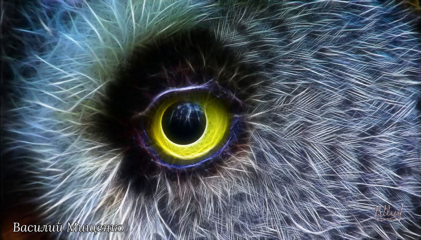 Vasiliy Mishchenko. All-seeing eye