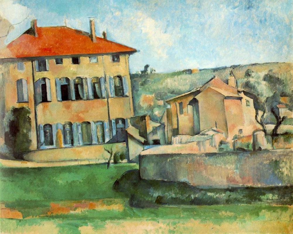 Поль Сезанн. Дом и ферма в Жа де Буффан.