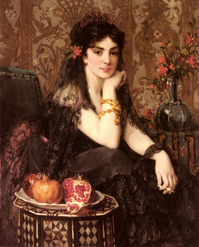 Молодая женщина в Гранаде