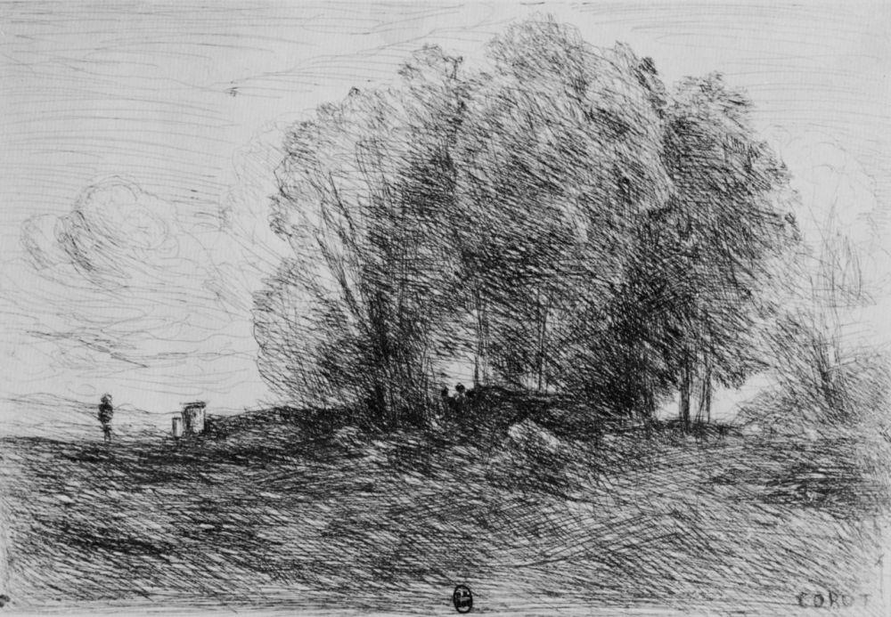 Camille Corot. Peak