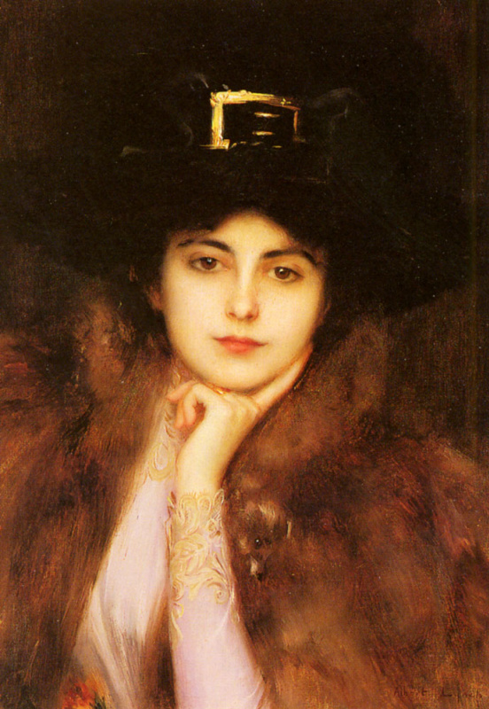 Портрет элегантной леди