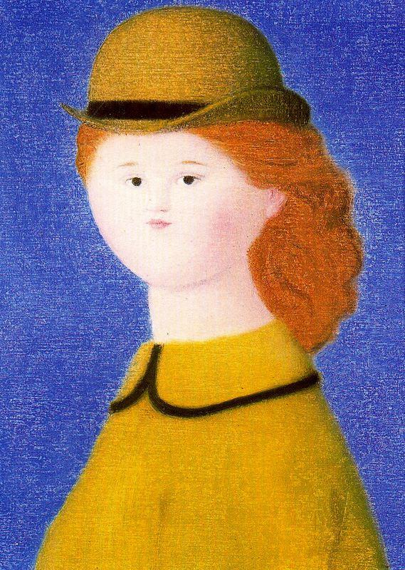 Антонио Буэно. Девушка в шляпе