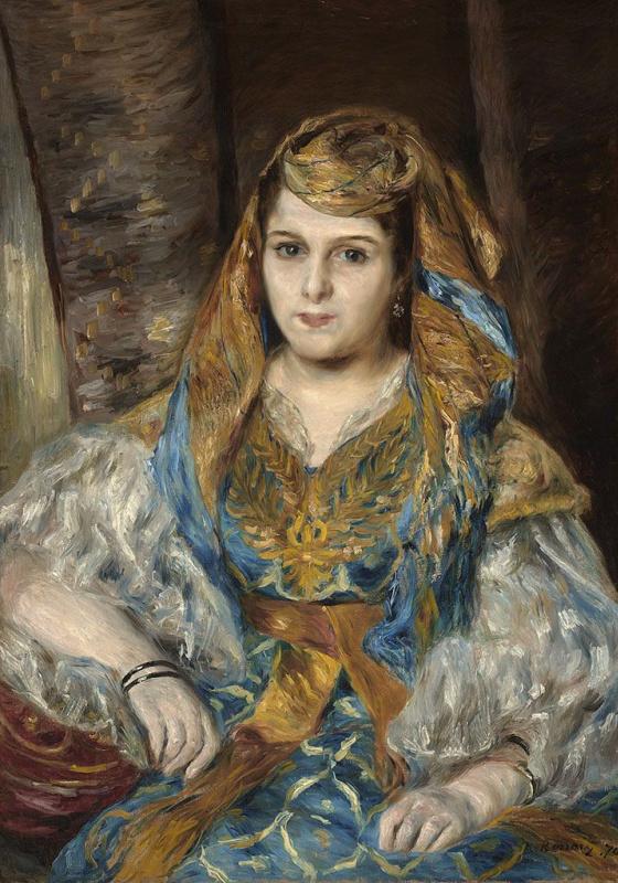 Мадам Клементина Валенси Стора (Алжирская женщина)