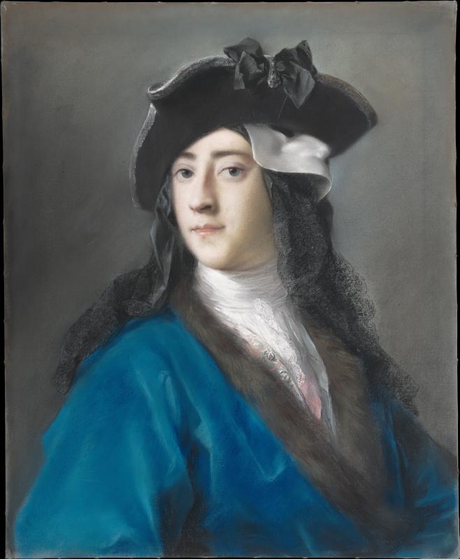 Густав Гамильтон, 2-й виконт Бойн в маскарадном костюме