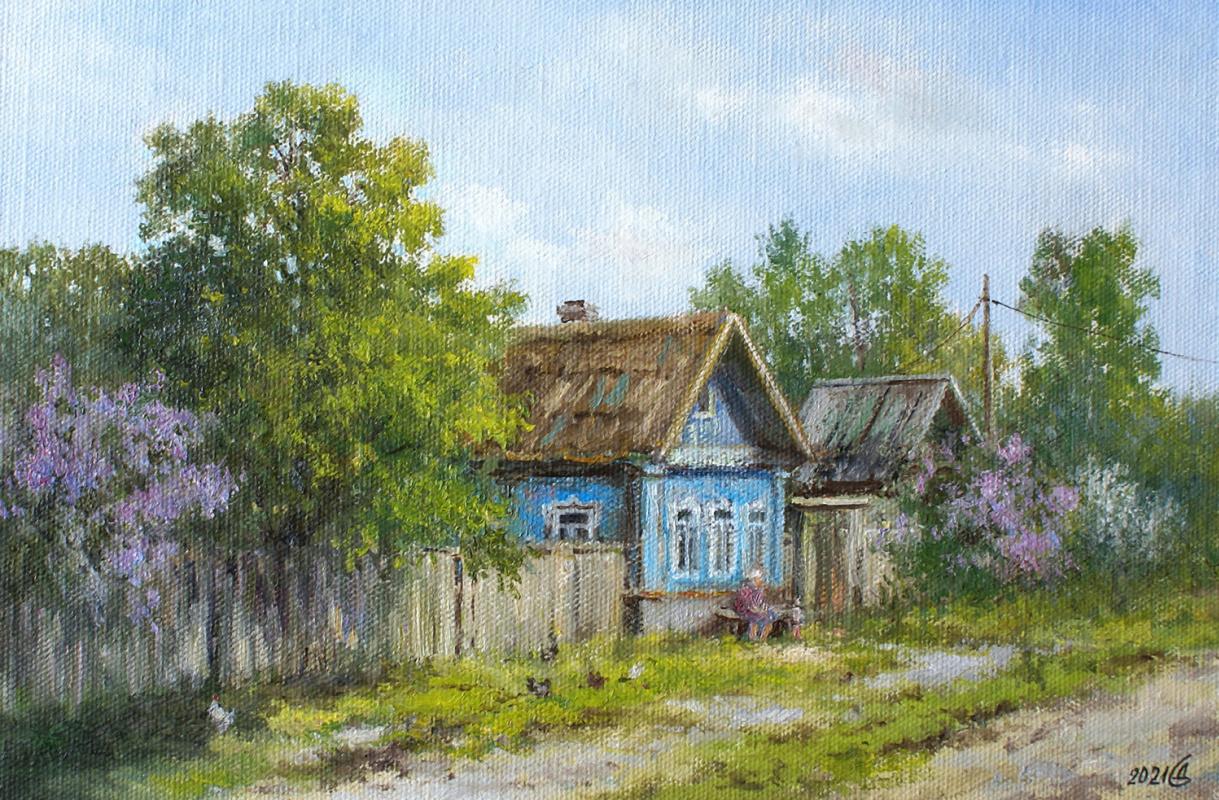 Сергей Владимирович Дорофеев. Spring in the village