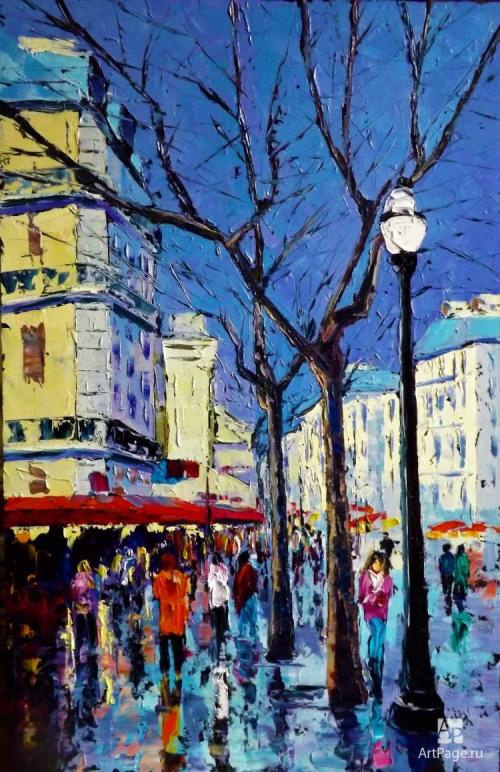 Sergey Yurievich Efremov. Walk in Paris