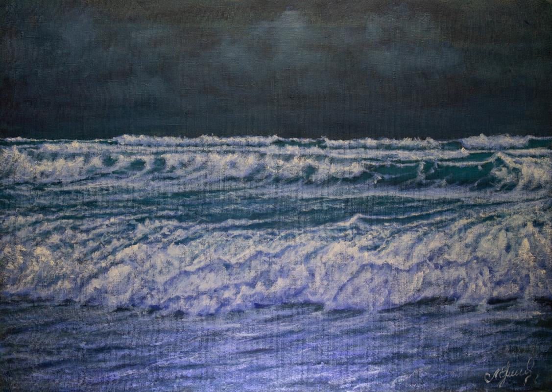 Valery Levchenko. № 601  Морской пейзаж.