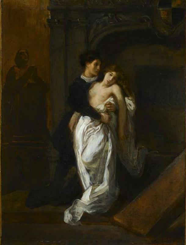 Ромео и Джульетта в склепе Капулетти