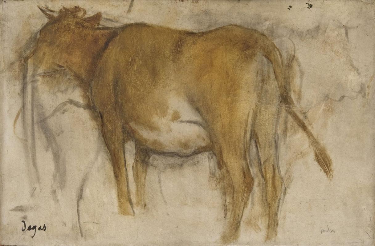Edgar Degas. Cow