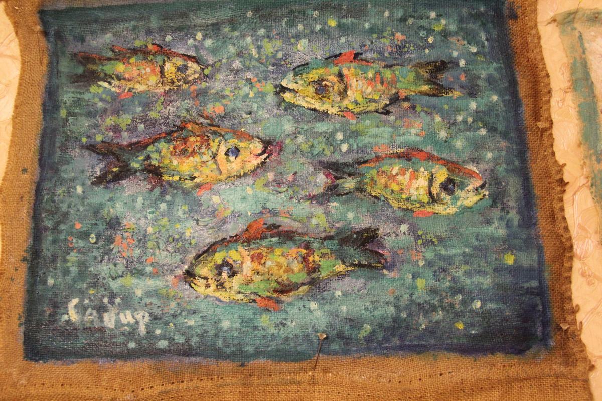 Саби. Рыбки