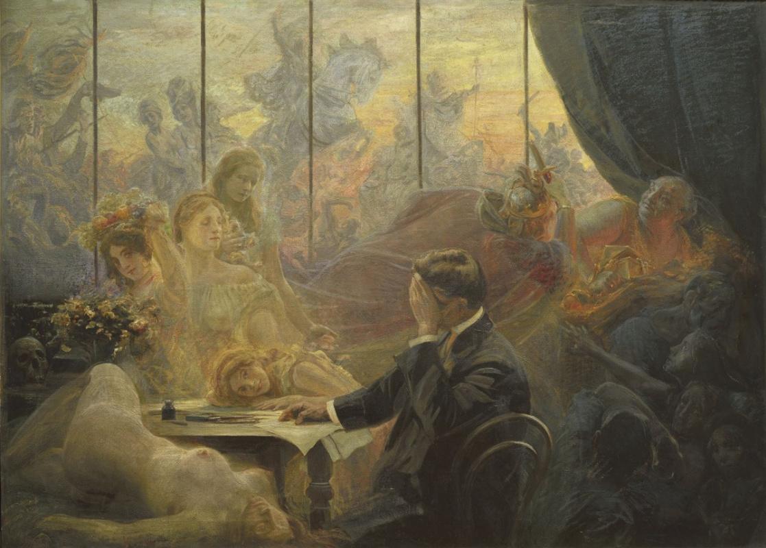 Эмиль Голарек. Сон художника