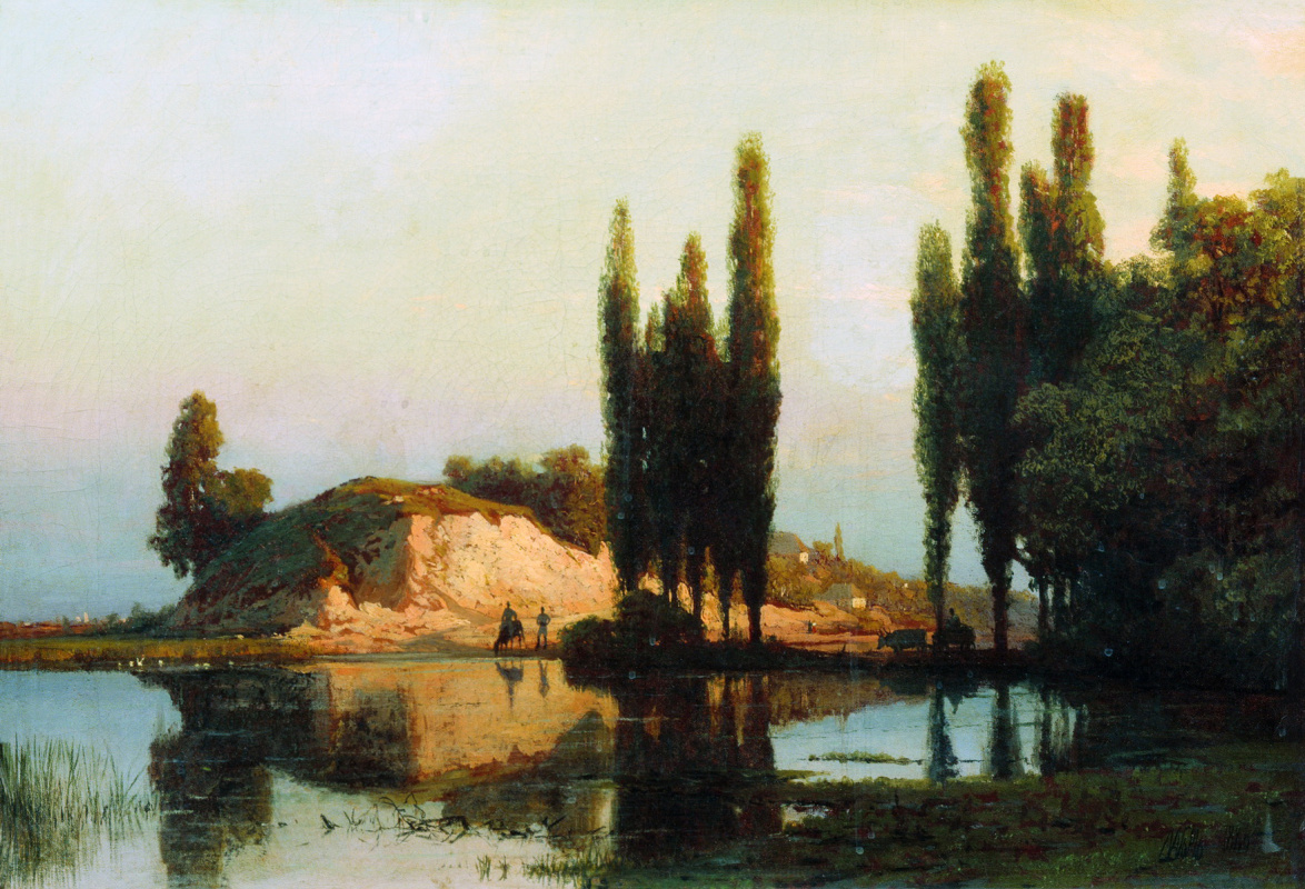 Lev Feliksovich Lagorio. Landscape