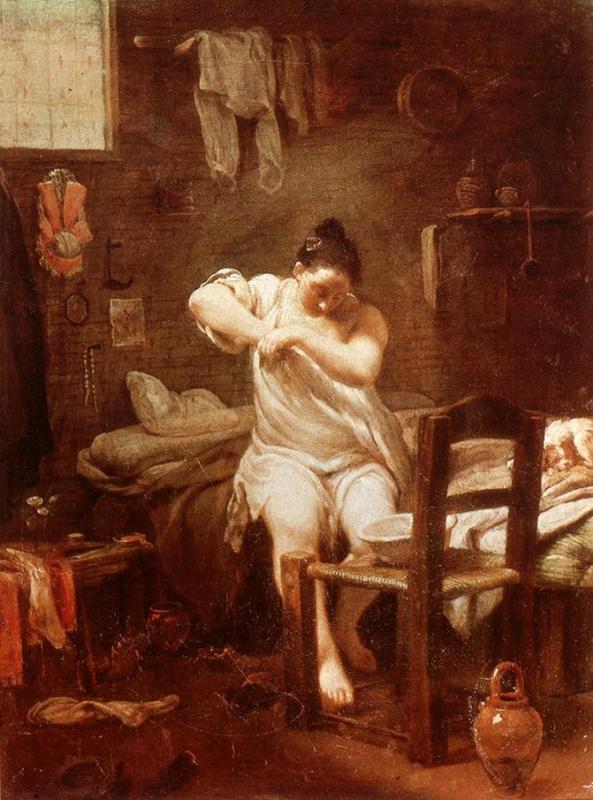 Джузеппе Мария Креспи. Блошиный