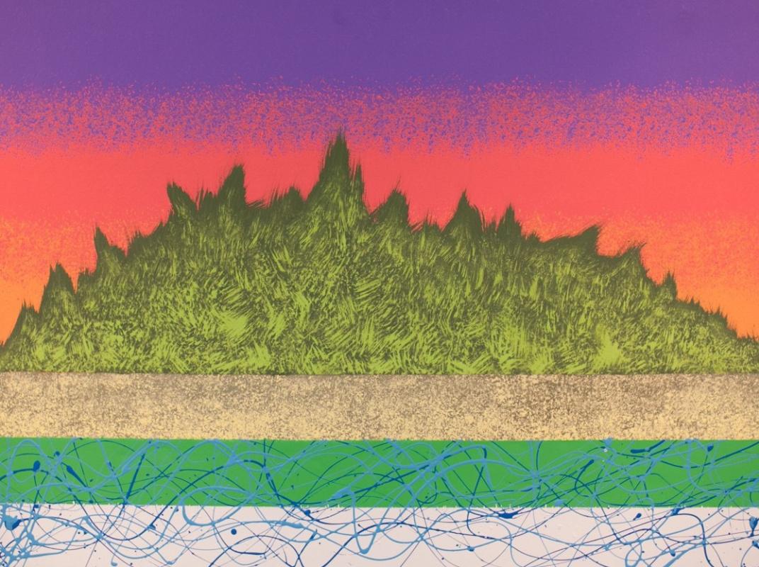 Pavel Turemsky. Island. MDF, acrylic, varnish. See 90х70 2014