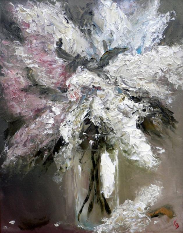 Сергей Николаевич Ходоренко-Затонский. Lilacs in a vase