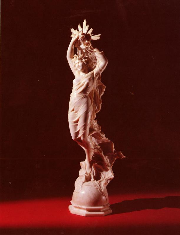 Фердинандо Андреини. Аллегорическая фигура Девы