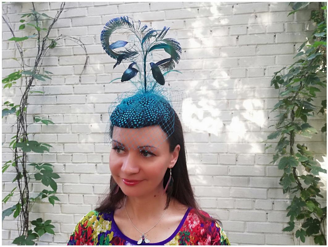 """Natalia Vladimirovna Solntseva. Hat for racing """"Sea Breeze"""""""