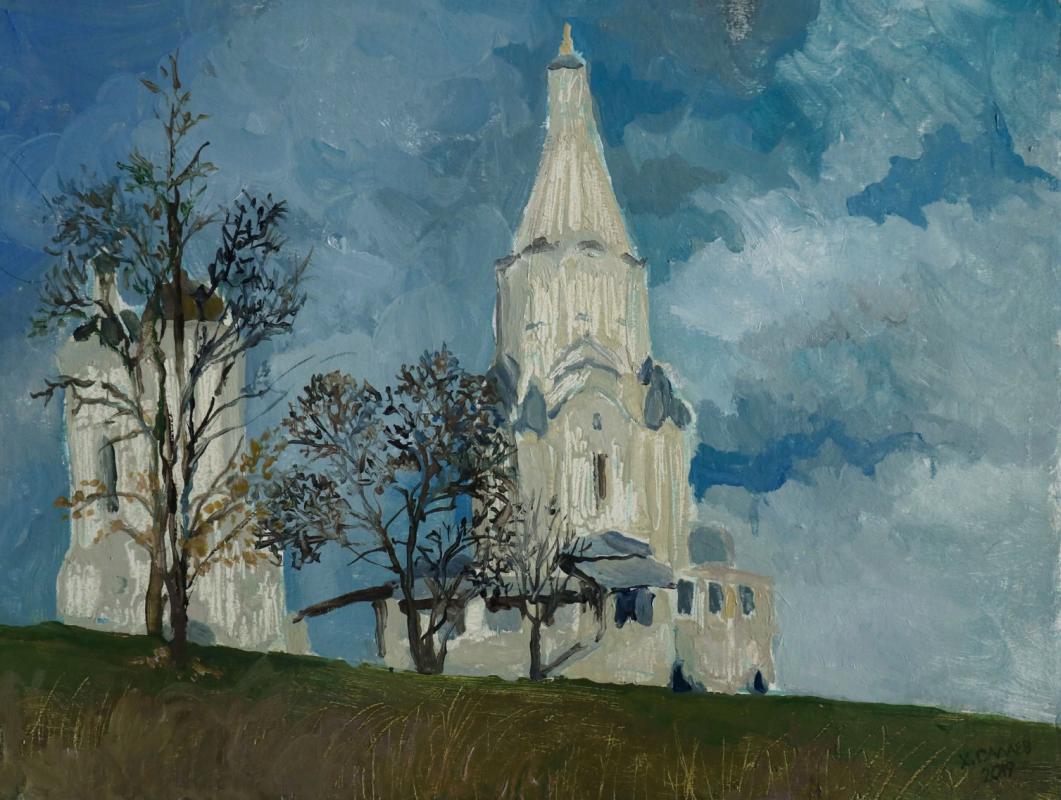 Halyg Salaev. Church of the Ascension. Kolomenskoye.
