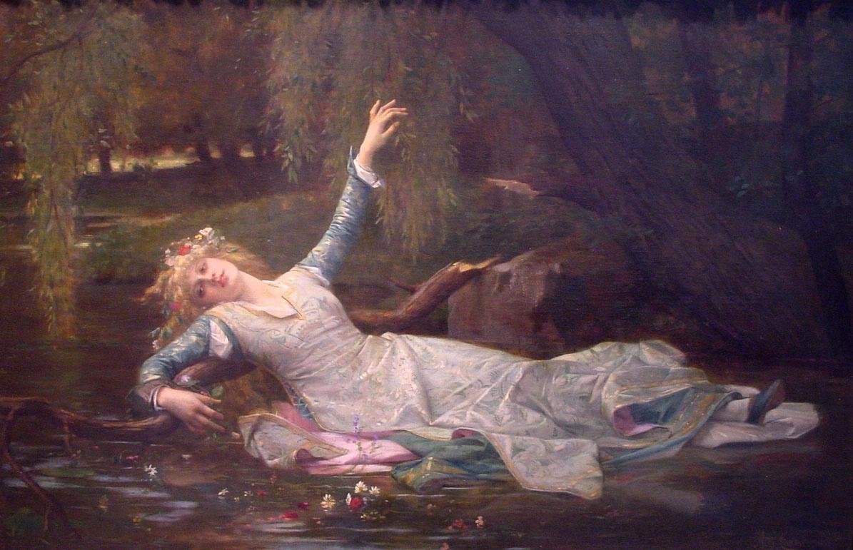 Alexandre Cabanel. Ophelia