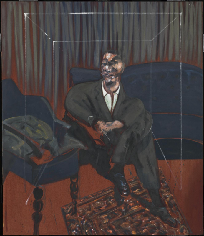 Francis Bacon. The seated figure