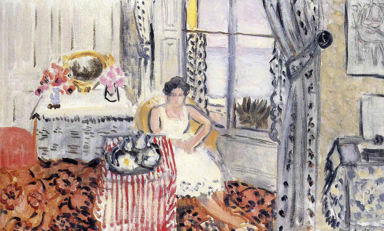 Анри Матисс. Женщина у окна