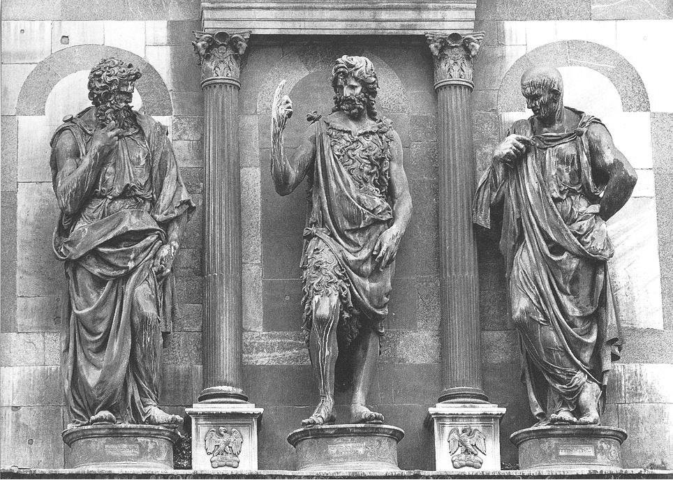 Джованни Франческо Рустики. Проповедь святого Иоанна Крестителя