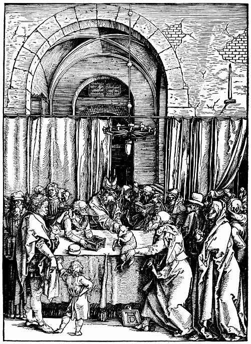 Альбрехт Дюрер. Отклонение жертвы Иоакима