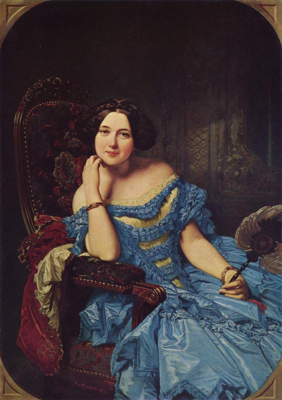Портрет доньи Амалии де Льяно-и-Дотрес, графини де Вильчес