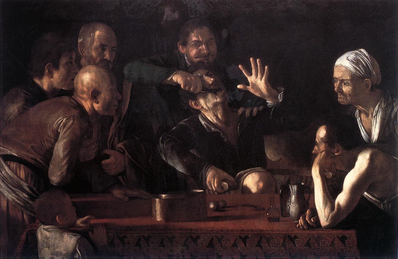 Michelangelo Merisi de Caravaggio. A dentist