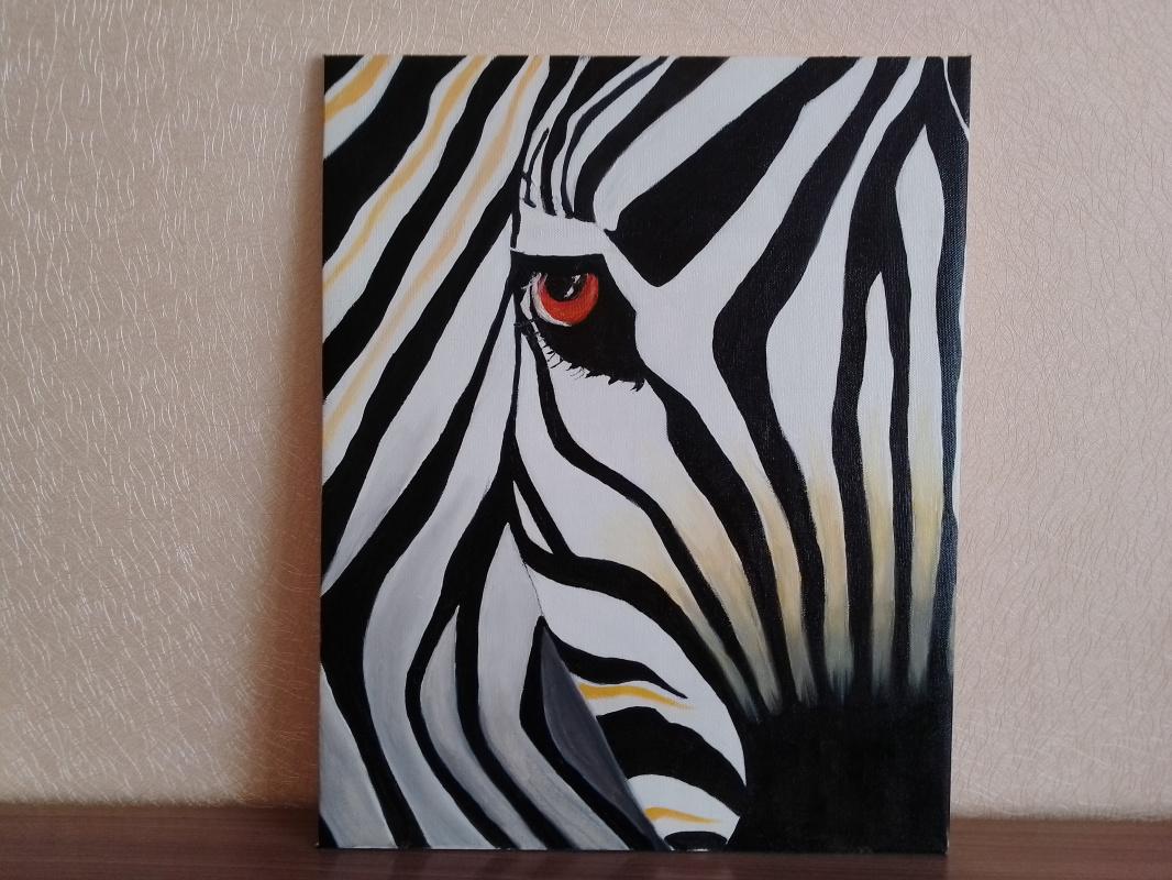 Tatiana Alekseevna Sinyakina. Zebra