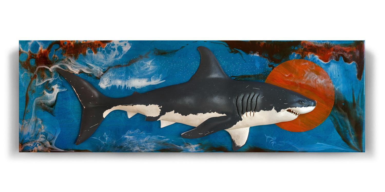 Michael Mirn. White shark