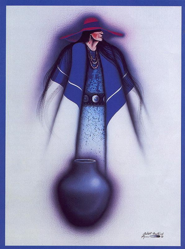 Роберт Редберд. Женщина воды