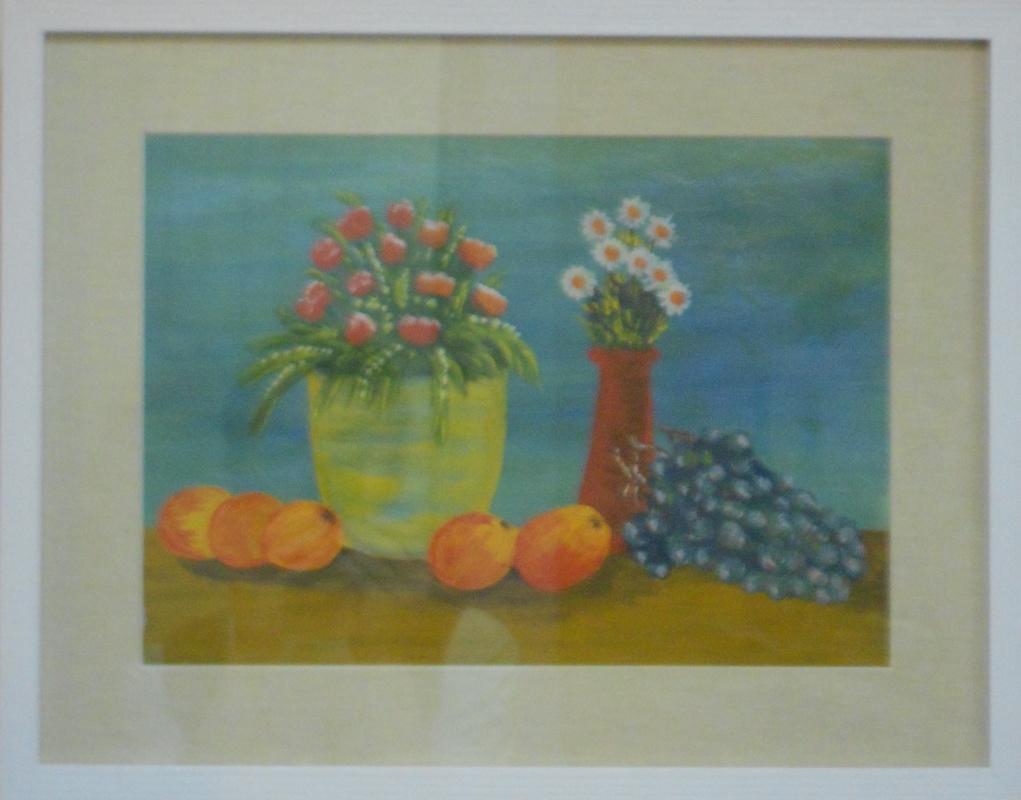 Vasily Vasilyevich Grigoryev. Flowers and fruits