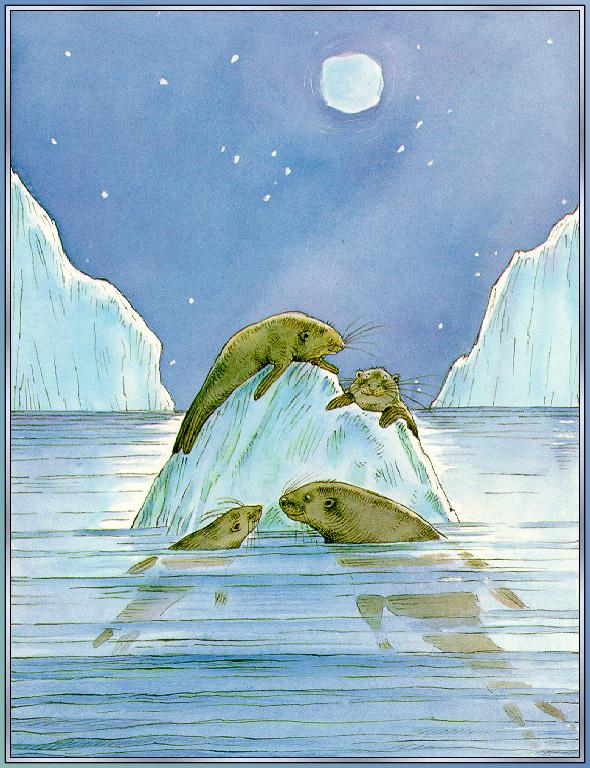 Линн Мунсингер. Ледовитый океан