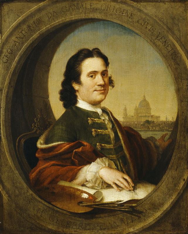 Джованни Антонио Каналь (Каналетто). Автопортрет